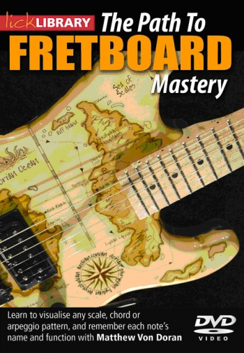 Lick Library: The Path To Fretboard Mastery (DVD)