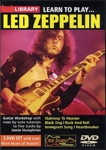 Lick Library: Learn To Play Led Zeppelin: DVD