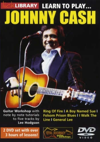 Lick Library: Learn To Play Johnny Cash: DVD