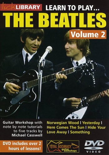 Lick Library: Learn To Play The Beatles Vol 2: DVD