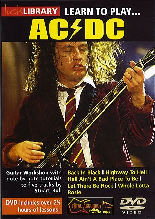 Lick Library: Learn To Play AC/DC: DVD