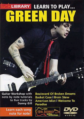 Lick Library: Learn To Play Green Day: DVD