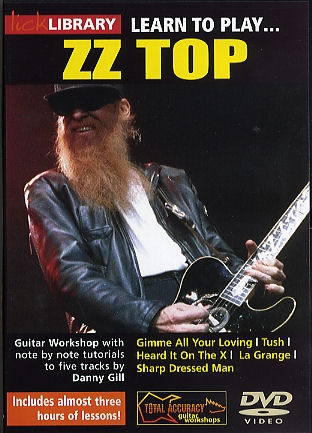 Lick Library: Learn To Play ZZ Top: DVD