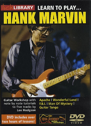Lick Library: Learn To Play Hank Marvin: DVD