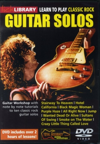 Lick Library: Learn To Play Classic Rock Guitar Solos: DVD