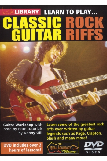 Lick Library: Learn To Play Classic Guitar Rock Riffs: DVD