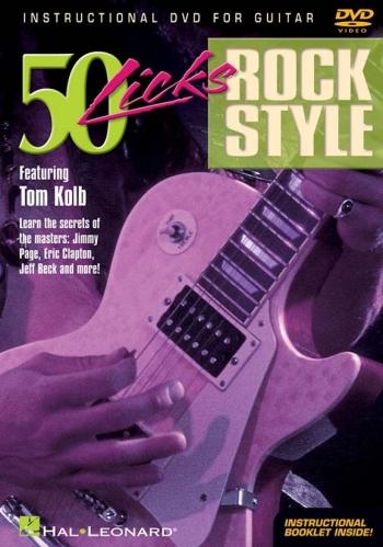 50 Licks: Rock Style: Featuring Tom Kolb: DVD