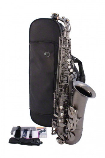 Trevor James Classic Alto Sax - Black Nickel Frosted Finish