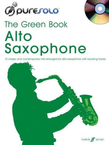 Pure Solo: The Green Book: Alto Saxophone Bk&cd