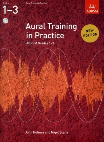ABRSM Aural Training In Practice Grades 1-3: Book & 2CDs