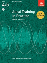 ABRSM Aural Training In Practice Grades 4-5: Book & Cd