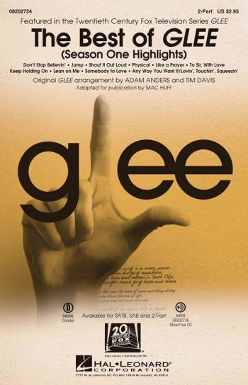 Best Of Glee: Season One Highlights: Vocal: 2 Part And Piano