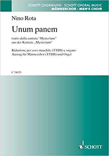 Unum Panum: Male Choir And Organ