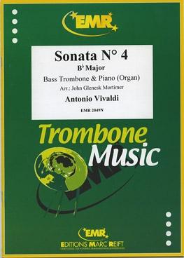 Sonata: No4: Bb Major: Bass Trombone