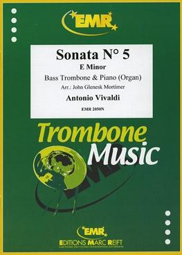 Sonata: No5: E Minor: Bass Trombone And Piano