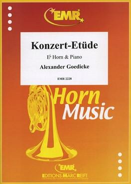 Konzert Etude: Tenor Horn & Piano