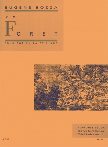 En Foret: French Horn & Piano (Leduc)