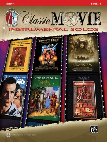 Classic Movie Instrumental Solos: Clarinet: Book And CD
