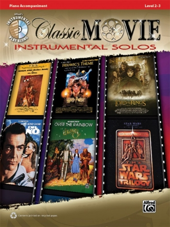 Classic Movie Instrumental Solos: Piano Accompaniment: Book And CD