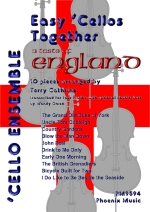 Easy Cellos Together: A Taste Of England: 10 Pieces For 4 Part Ensemble