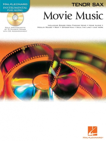 Instrumental Playalong: Movie Music: Tenor Sax: BK&cd