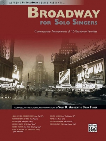 Broadway For Solo Singers Bk