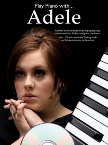 Play Piano With Adele - Bk&cd