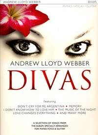 Andrew Lloyd Webber: Divas:  Piano Vocal Guitar