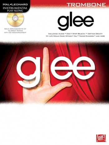 Instrumental Play-Along: Glee: Trombone Bass Clef:  Bk&cd
