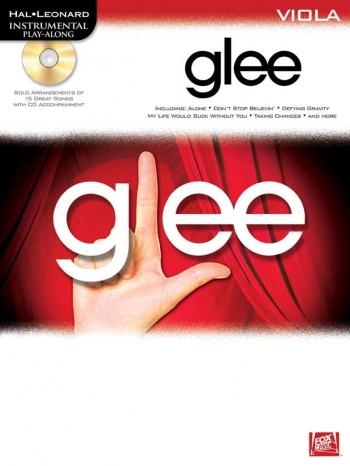 Instrumental Play-Along: Glee: Viola  Bk&cd