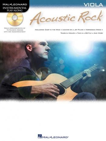 Instrumental Play-along: Acoustic Rock: Viola: Bk&Cd