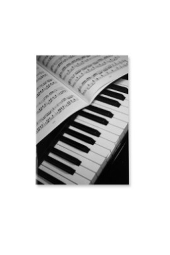 Notebook - Piano/Sheet Music