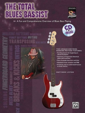 Total Blues Bassist: Bk&cd