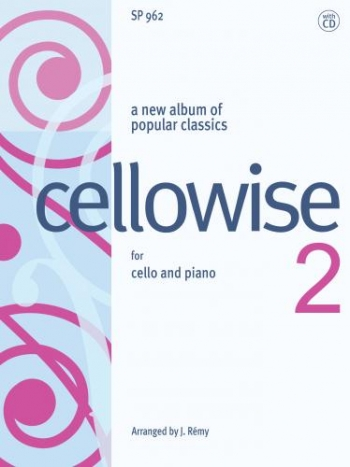 Cellowise 2: Popular Classics: Book & CD (Spartan)
