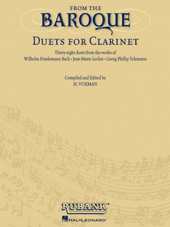 From The Baroque: Duets For Clarinet
