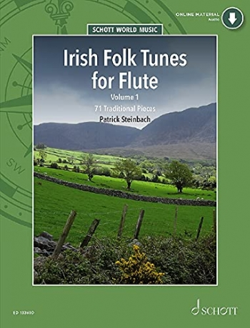 Irish Folk Tunes: 71 Traditional Pieces: Flute Book & CD
