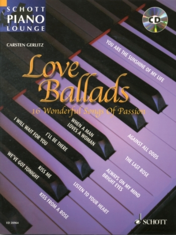 Schott Piano Lounge: Love Ballads: Piano