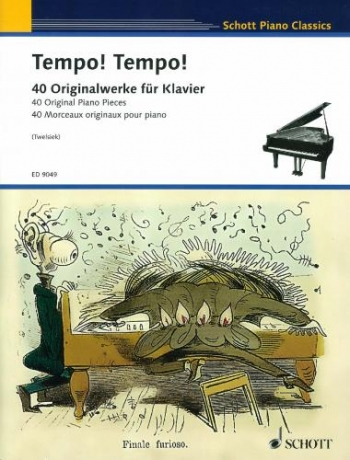 Schott Piano Classics: Tempo Tempo: 40 Original Piano Pieces