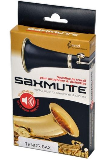 Saxmute Tenor Saxophone Practice Mute