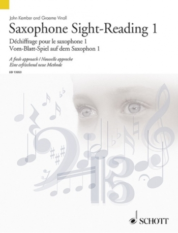 Sight-Reading: Book 1: Saxophone (Kember)