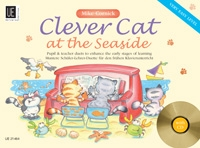 Clever Cat: At The Seaside: Piano Duet : Beginner Piano