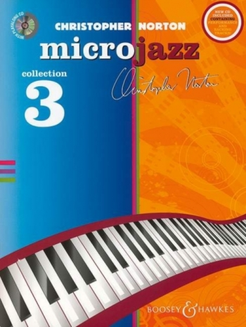 Microjazz Collection 3 (Level 5): Piano: Book & Cd (norton)
