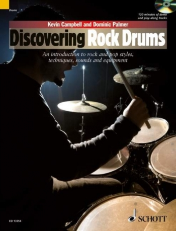 Discovering Rock Drums: Introduction To Rock And Pop: Book & CD