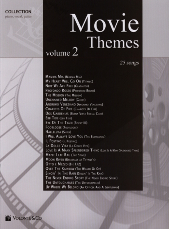 Movie Themes: Vol 2: 25 Songs: Piano Vocal Guitar