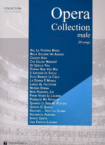 Opera Collection: Male: 20 Songs