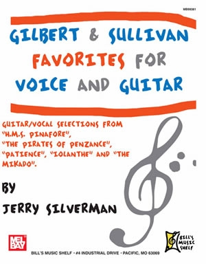 Gilbert & Sullivan: Favourites: Vocal & Guitar