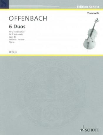 6 Duos: Op 49: Band 1: Cello