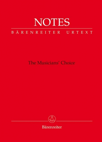 Manuscript: Notes: The Musicians Choice  (Red)