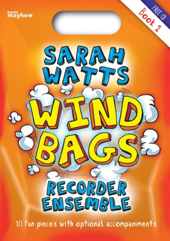 Wind BagsFor Recorder Ensemble Bk 2:Sc & Pts & CD