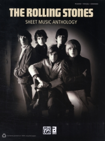 Rolling Stones Sheet Music  Anthology: Piano Vocal Guitar